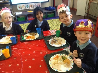 Christmas Lunch and Santa Visit